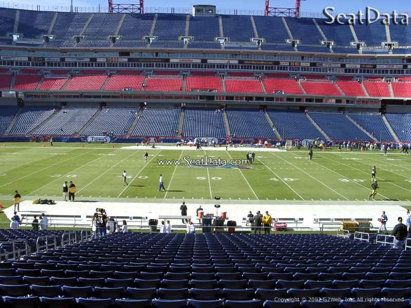 Nissan Stadium Section 212 Tennessee Titans Rateyourseatscom