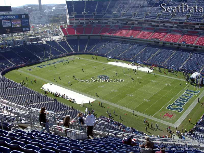 Nissan Stadium Section 306 Tennessee Titans