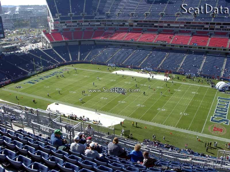 Nissan Stadium Section 308 Tennessee Titans