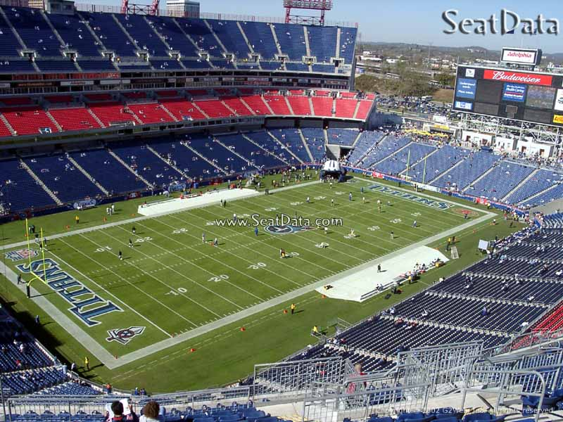East Tennessee Nissan >> Nissan Stadium Section 319 - Tennessee Titans ...