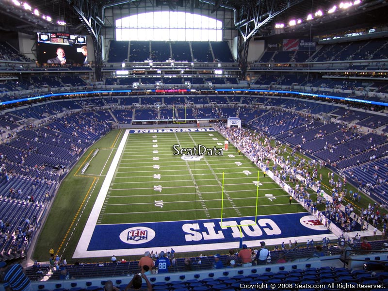 Indianapolis Colts Lucas Oil Stadium Section 401