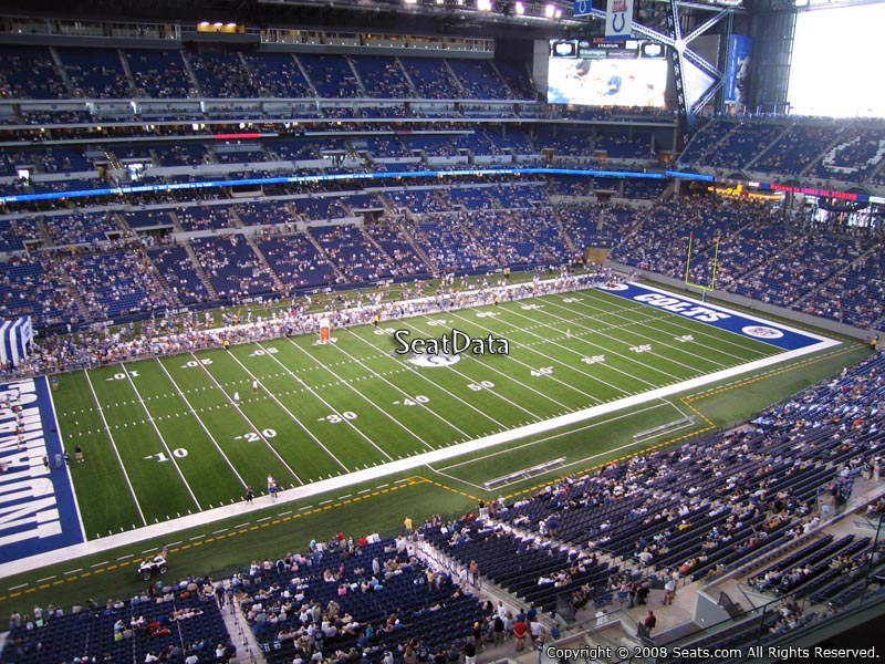 Lucas oil stadium section 517 indianapolis colts for Terrace end zone lucas oil stadium