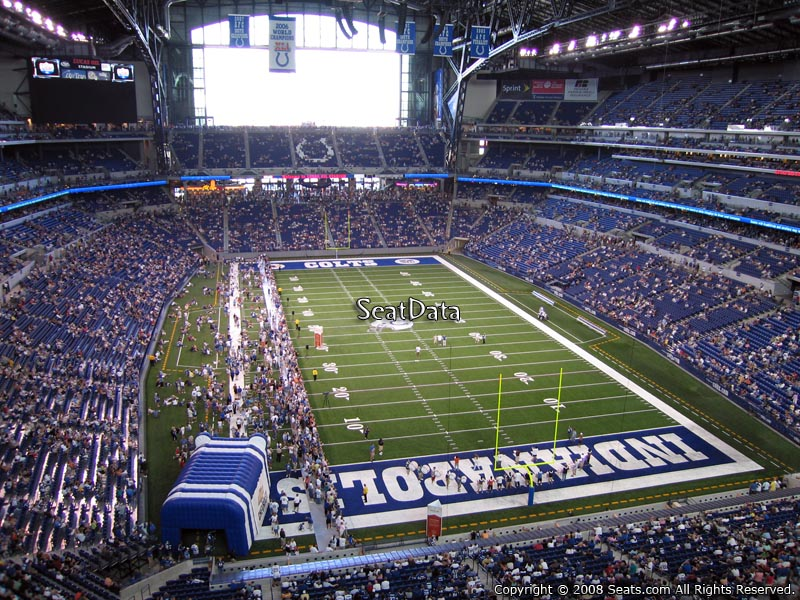 Lucas oil stadium section 528 indianapolis colts for Terrace end zone lucas oil stadium