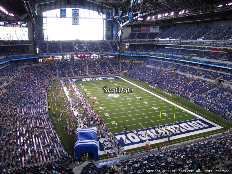 Lucas oil stadium section 529 indianapolis colts for Terrace end zone lucas oil stadium