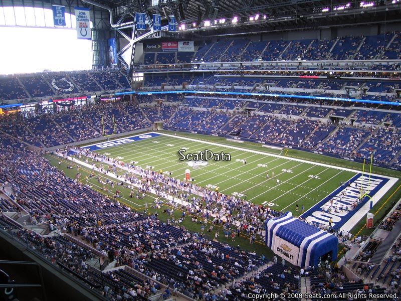 Lucas oil stadium section 534 indianapolis colts for Terrace end zone lucas oil stadium