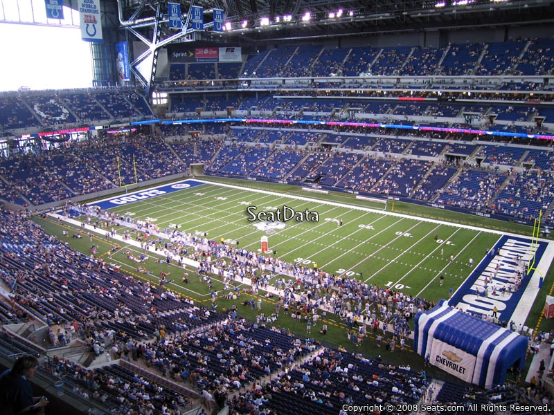 Lucas oil stadium section 535 indianapolis colts for Terrace end zone lucas oil stadium