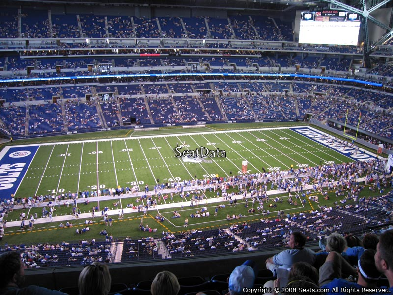 Lucas oil stadium section 542 indianapolis colts for Terrace end zone lucas oil stadium