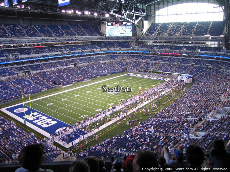 Lucas oil stadium section 547 indianapolis colts for Terrace end zone lucas oil stadium