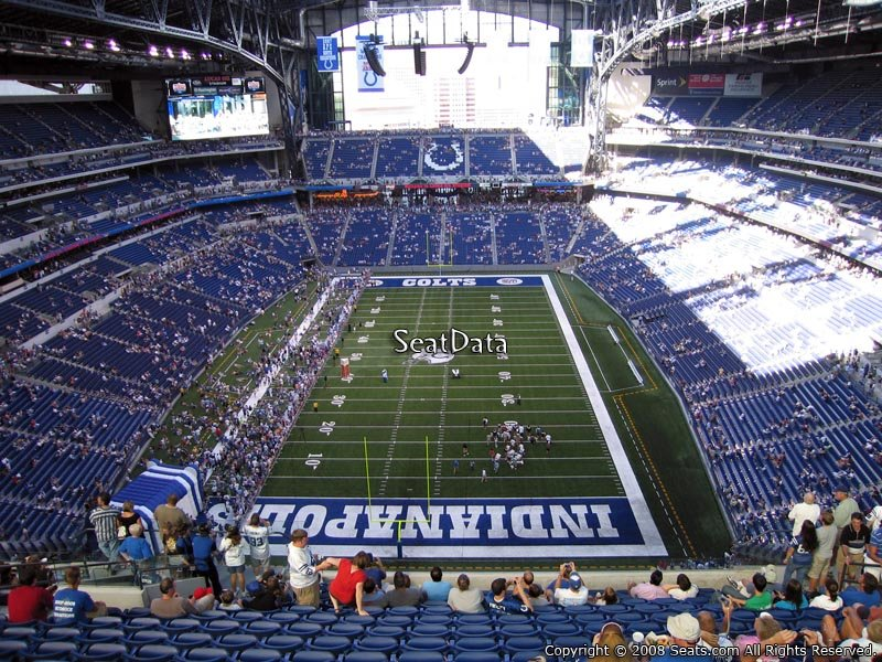 Lucas oil stadium section 626 indianapolis colts for Terrace end zone lucas oil stadium
