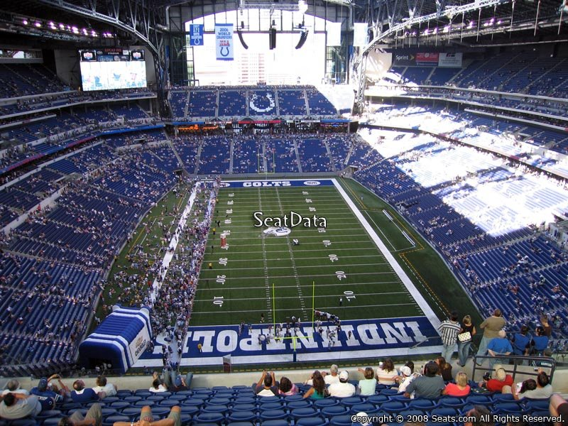 Lucas oil stadium section 627 indianapolis colts for Terrace end zone lucas oil stadium