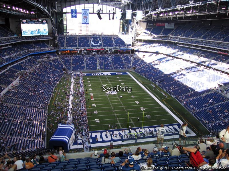 Lucas oil stadium section 628 indianapolis colts for Terrace end zone lucas oil stadium