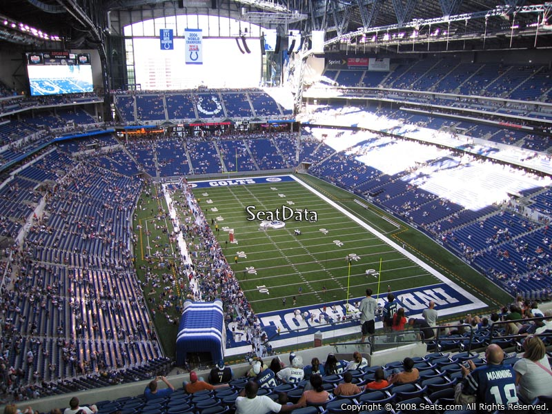 Indianapolis colts lucas oil stadium section 629 for Terrace end zone lucas oil stadium