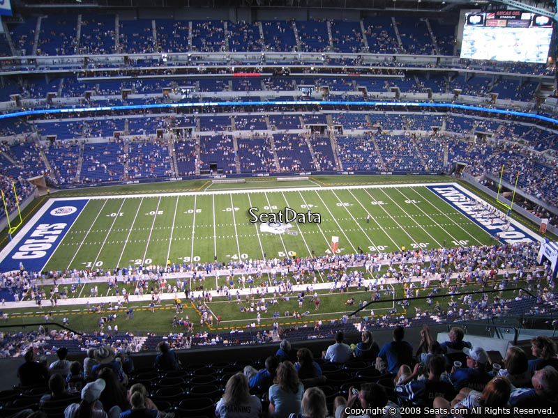 Lucas Oil Stadium Section 641 Indianapolis Colts