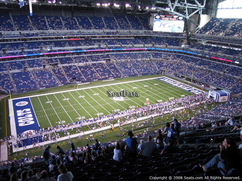 Indianapolis Colts Lucas Oil Stadium Section 644