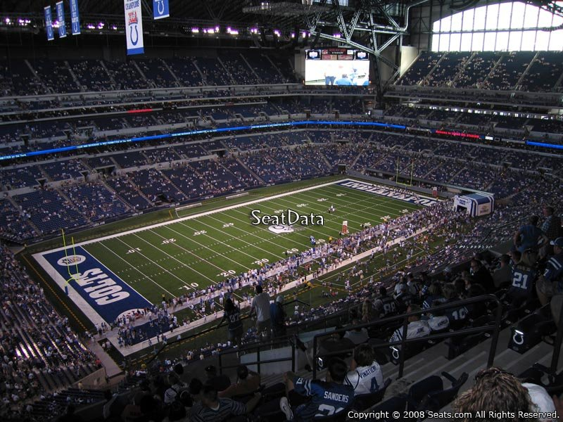 Indianapolis colts lucas oil stadium section 646 for Terrace end zone lucas oil stadium