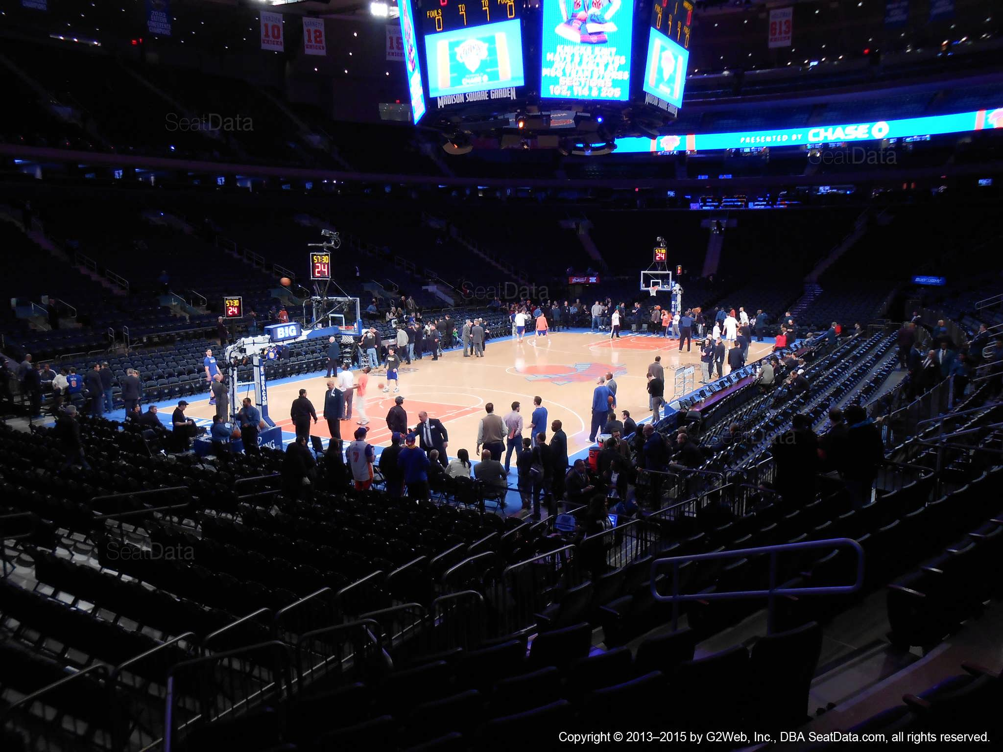Msg College Basketball Seating Chart Awesome Home