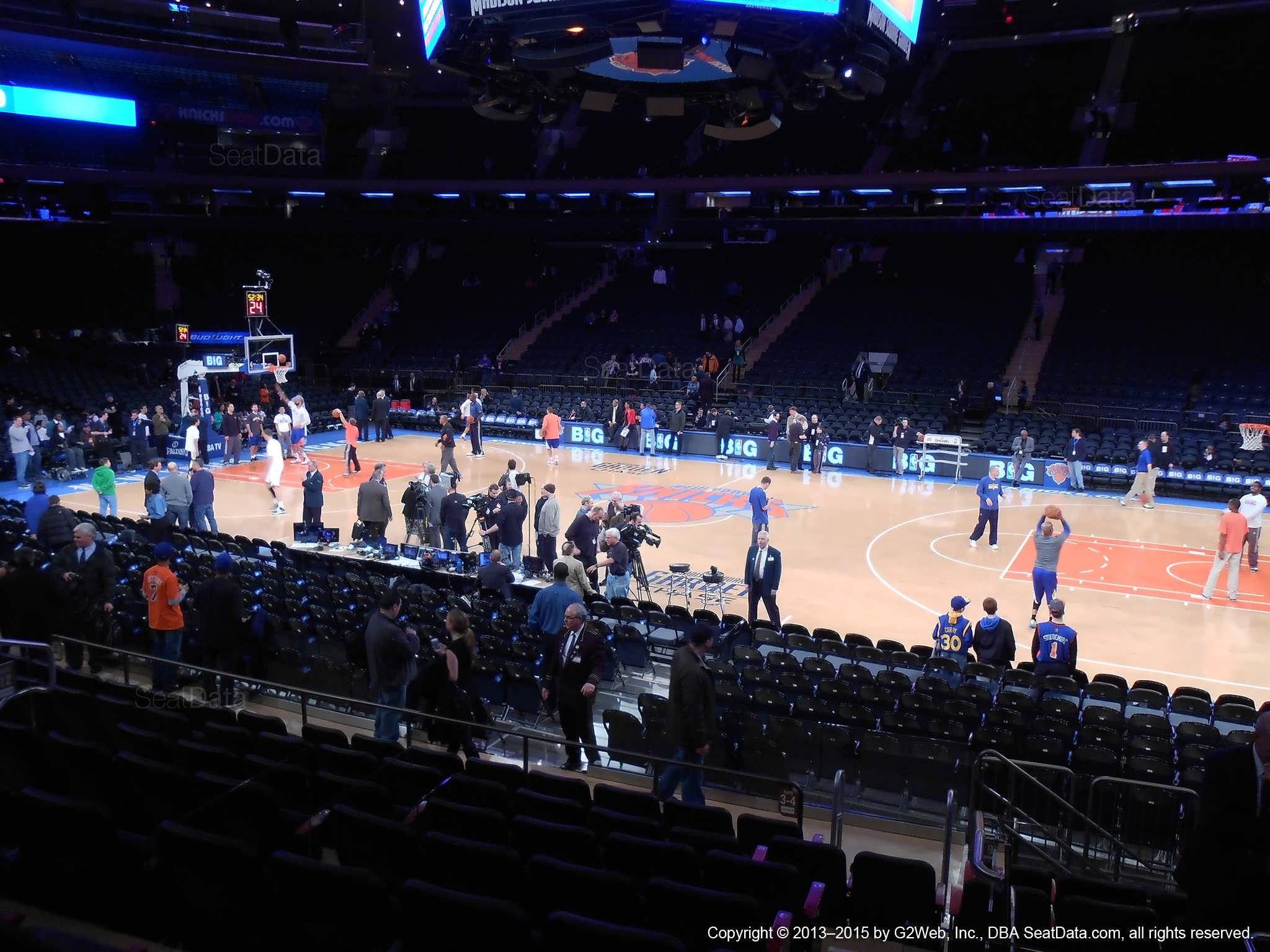 Msg Club Seats Madison Square Garden Section 225 Home Of New York Rangers New York Knicks St