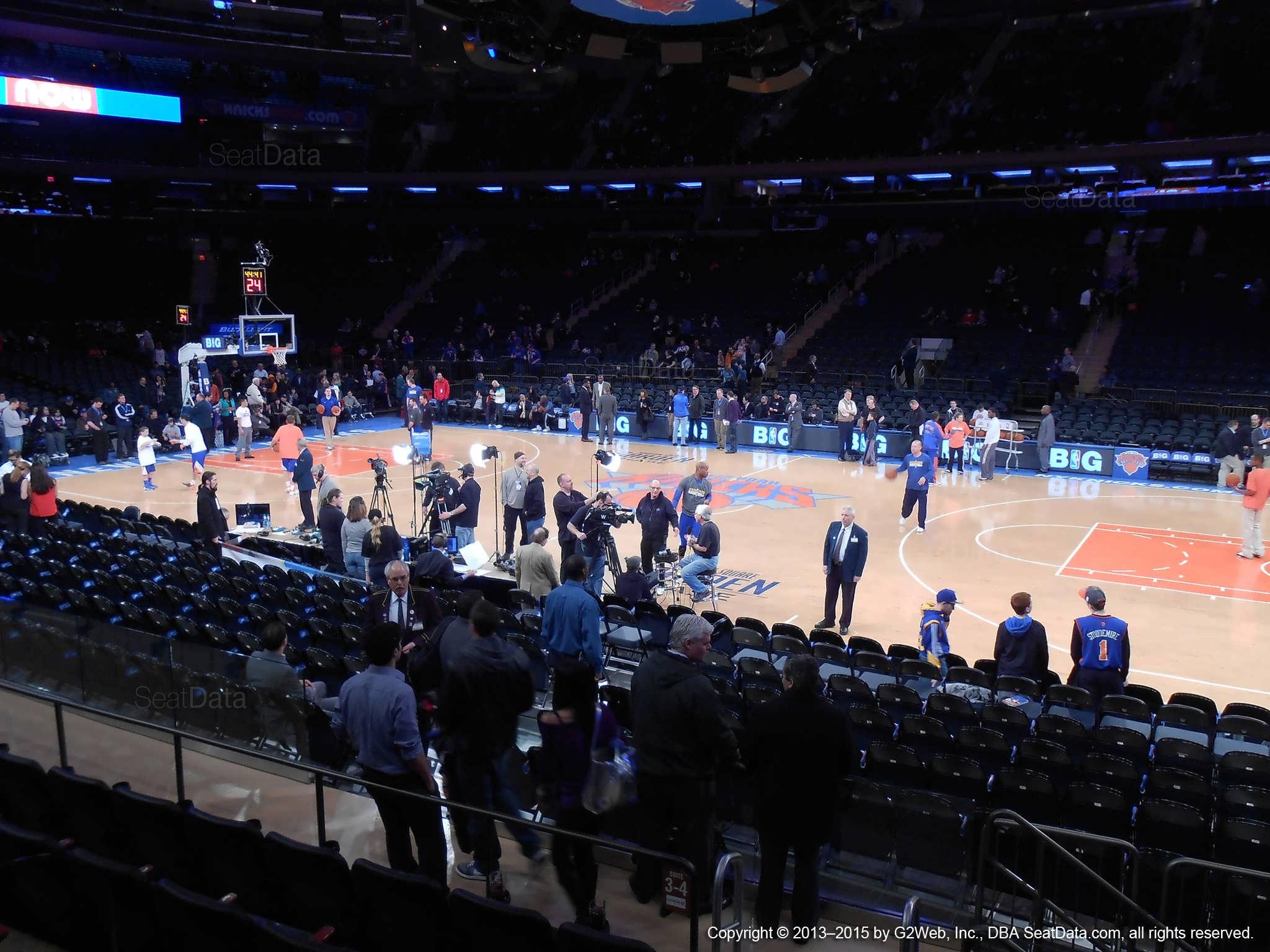Madison Square Garden: Madison Square Garden Section 12