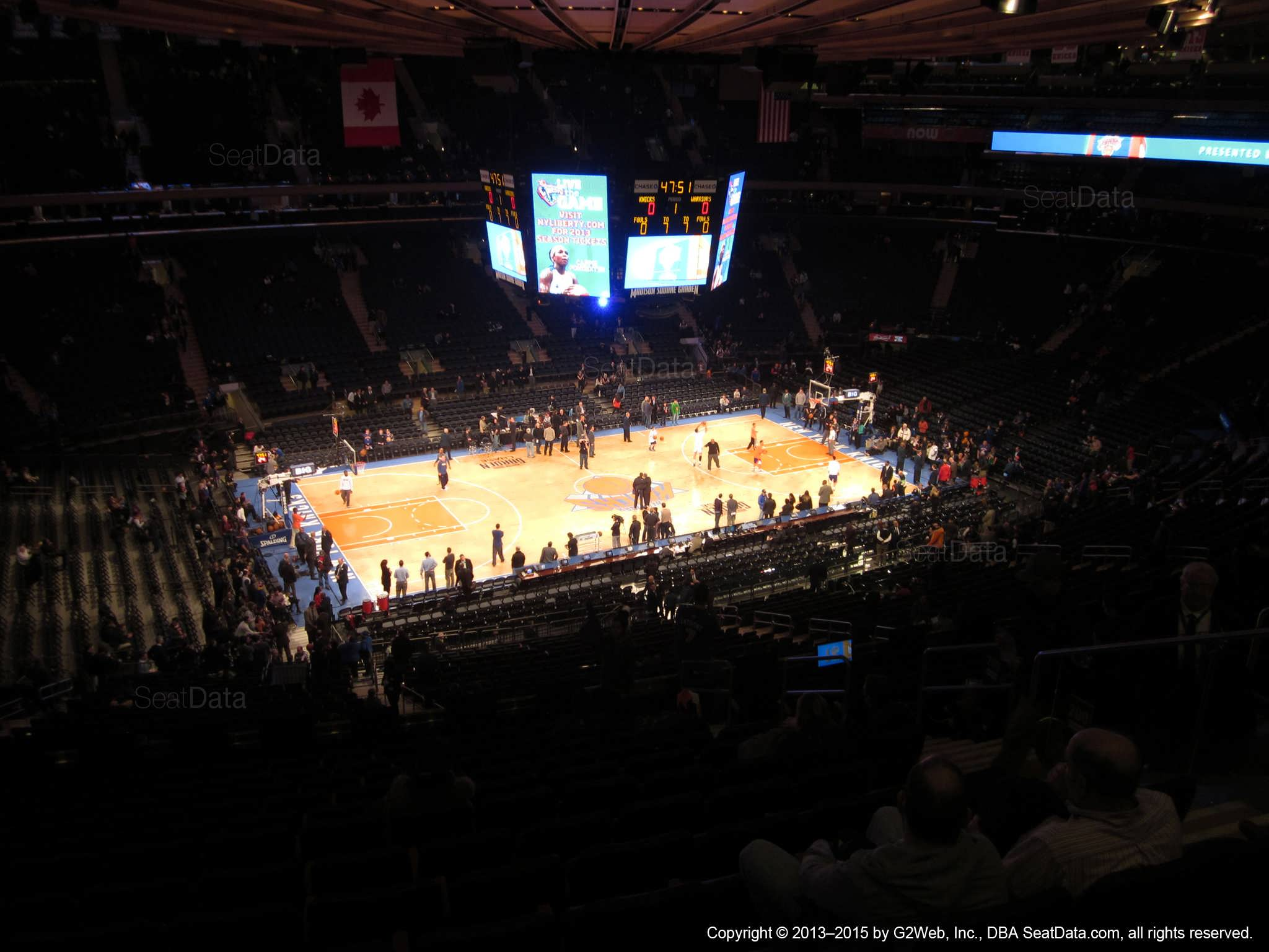 Madison Square Garden: Madison Square Garden Section 209