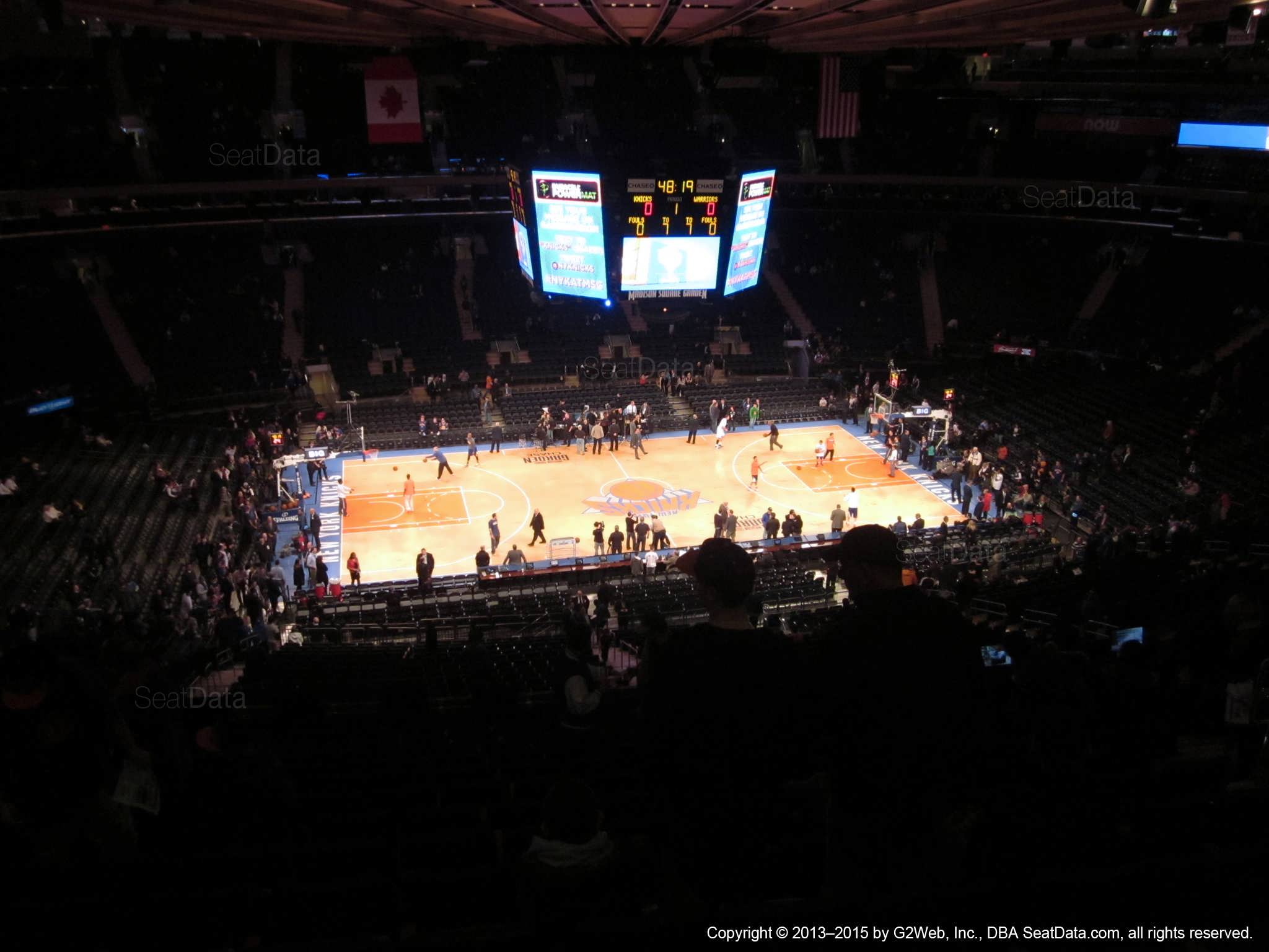 Madison Square Garden: Madison Square Garden Section 210