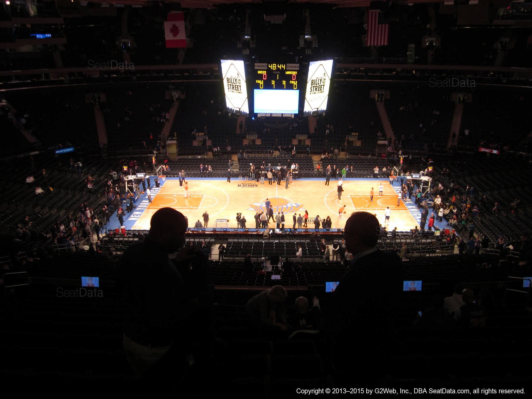 Madison Square Garden: Madison Square Garden Section 211