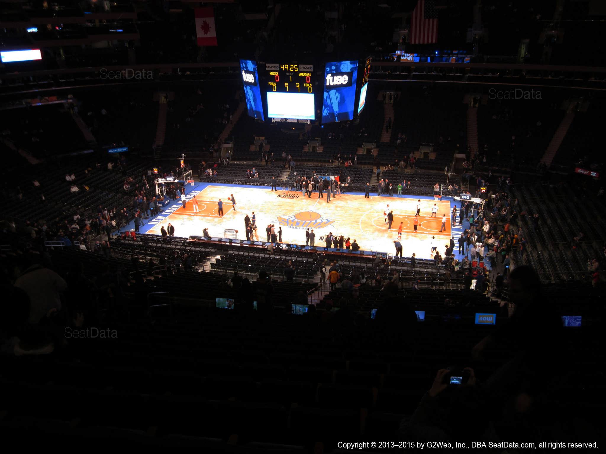Madison Square Garden: Madison Square Garden Section 212