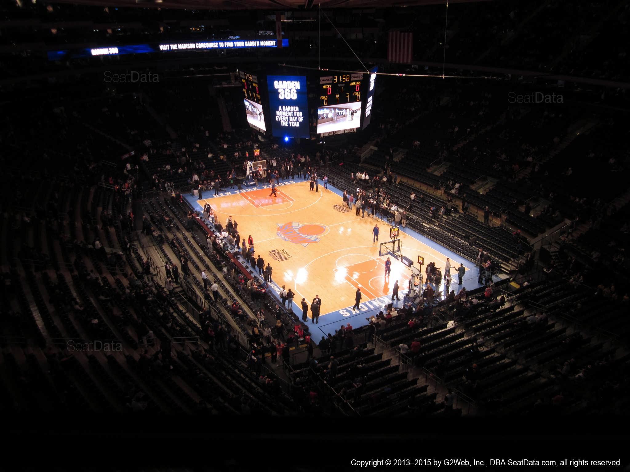 Madison Square Garden: Madison Square Garden Section 318