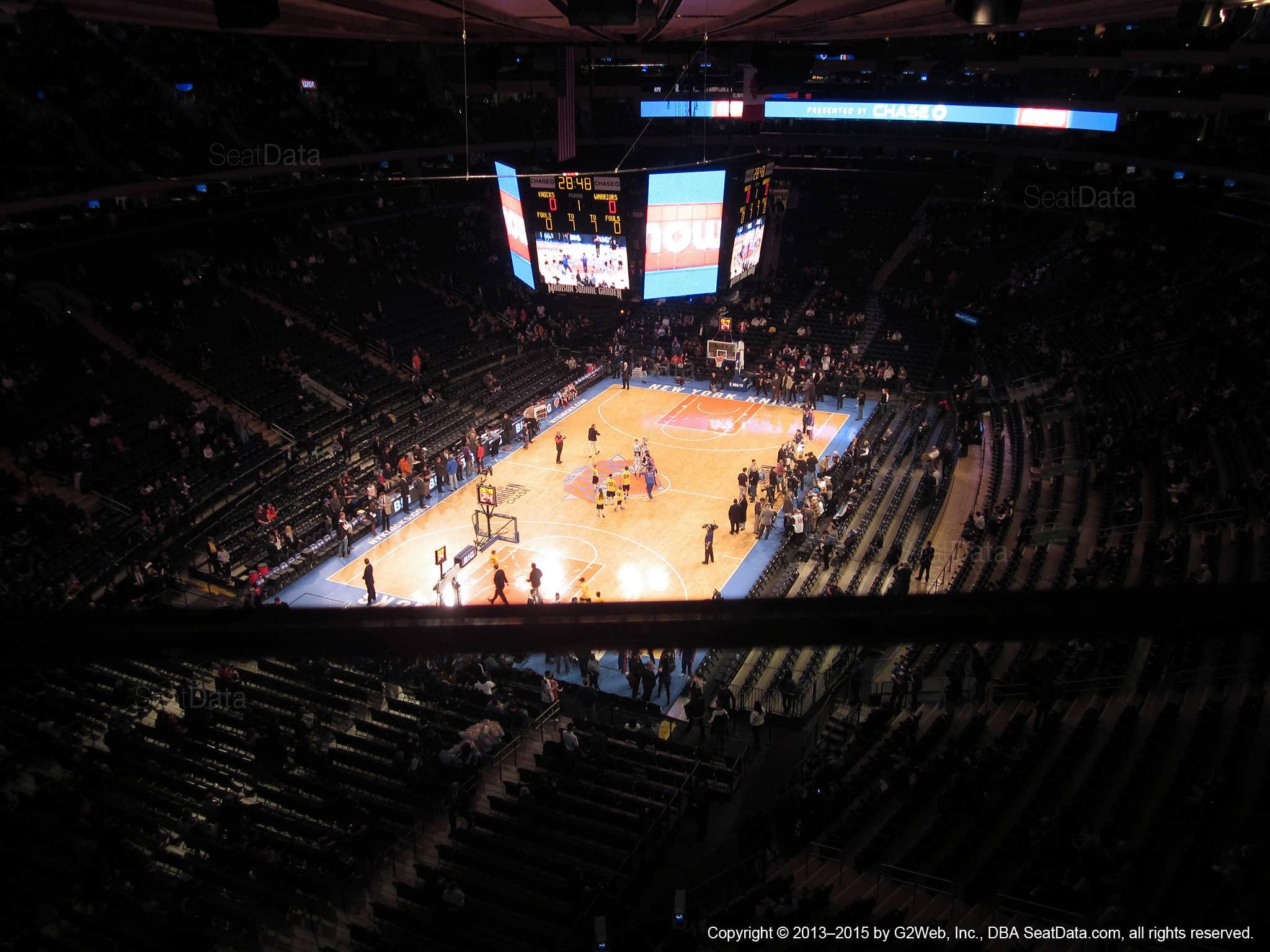 Fine Madison Square Garden Section 322 New York Knicks Spiritservingveterans Wood Chair Design Ideas Spiritservingveteransorg