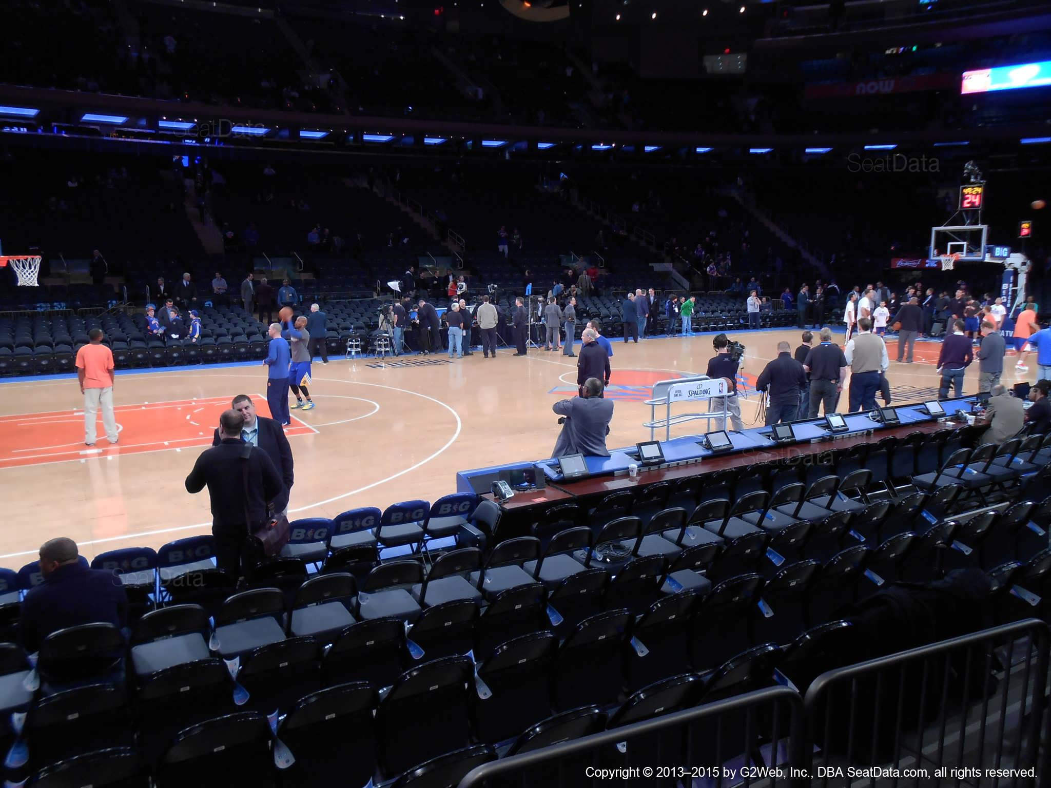 Madison Square Garden Section 4 New York Knicks
