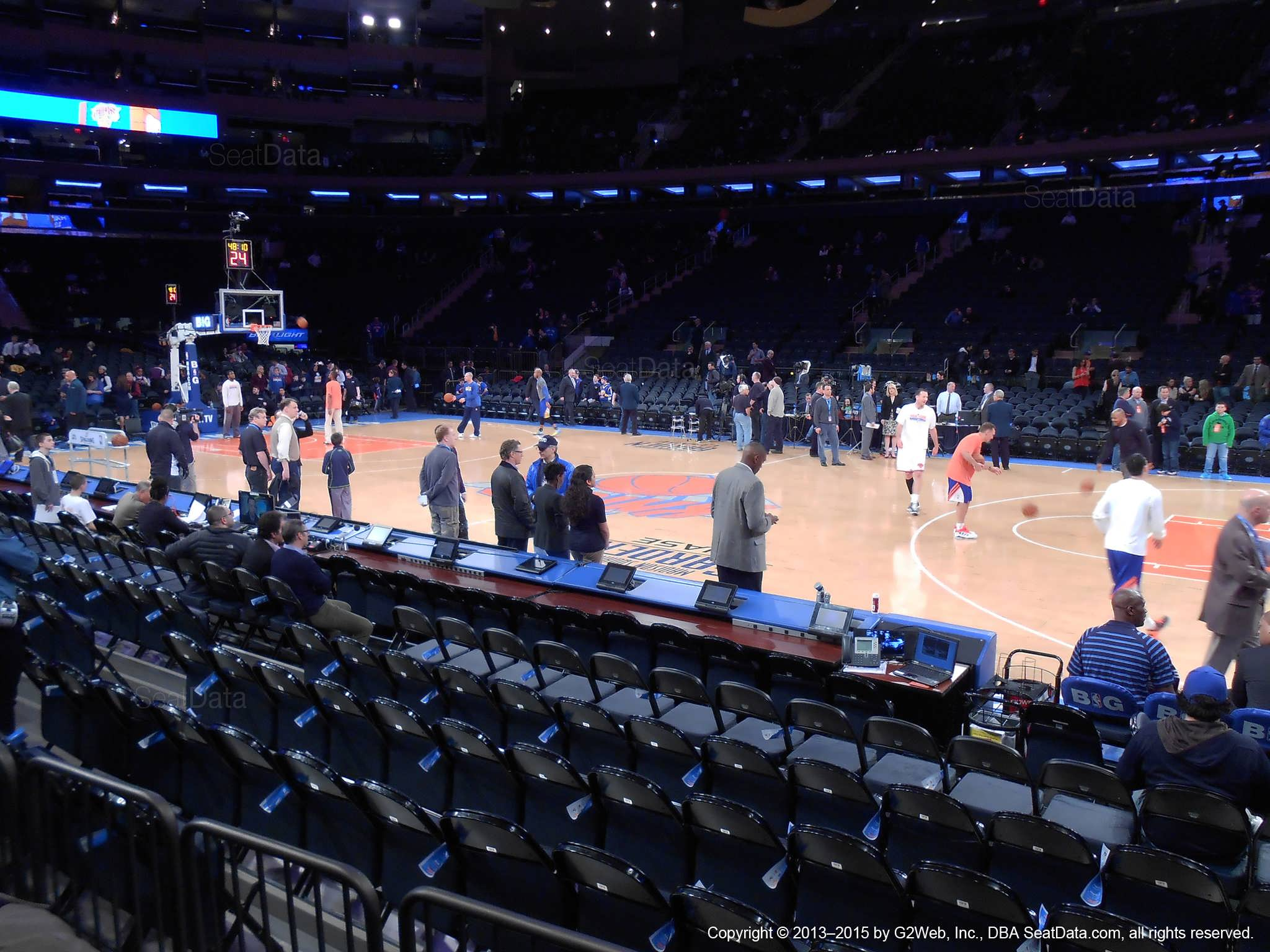 Madison Square Garden Section 6 New York Knicks