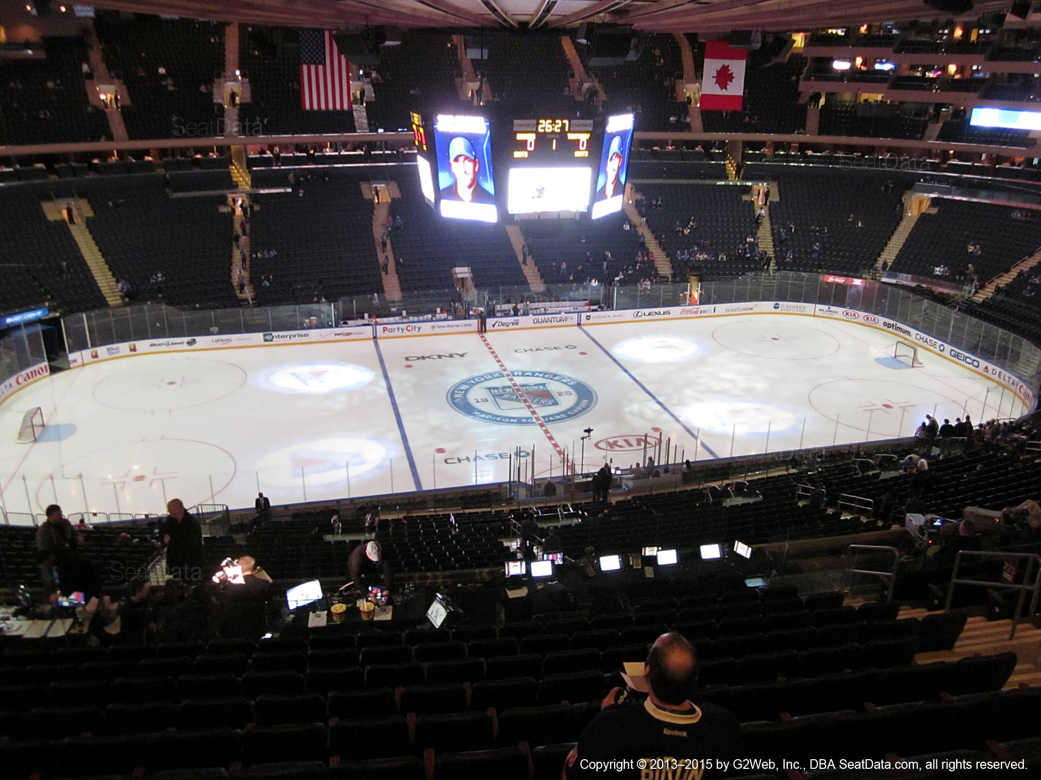 Madison Square Garden: Madison Square Garden Section 223