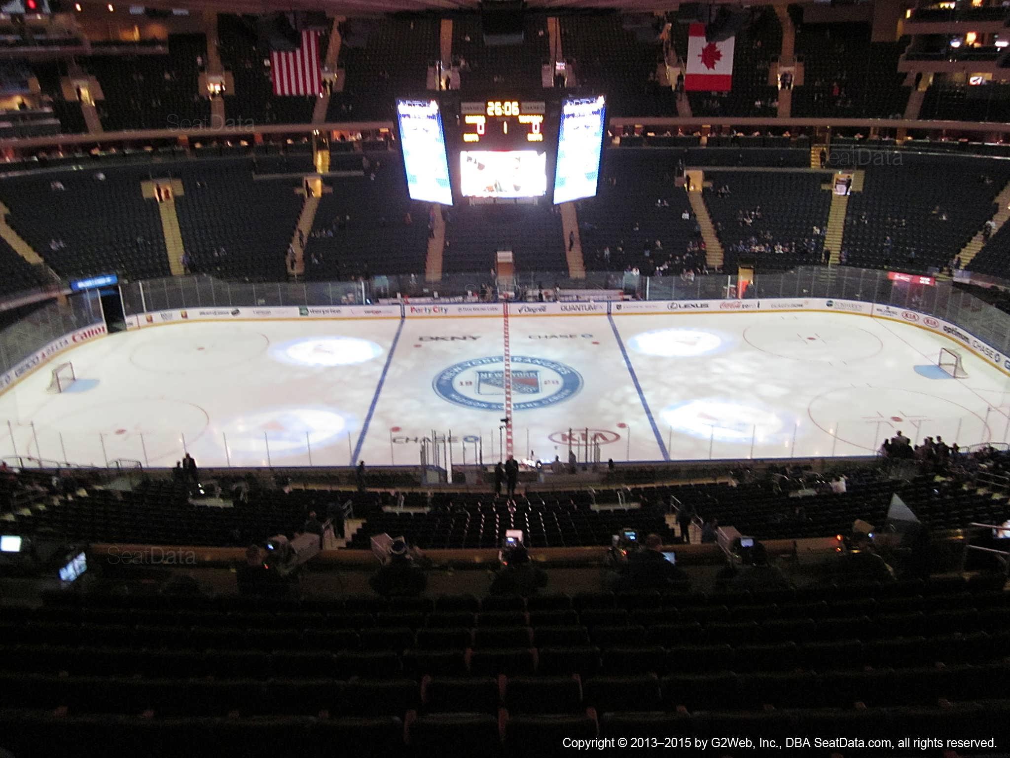 Madison Square Garden: Madison Square Garden Section 224