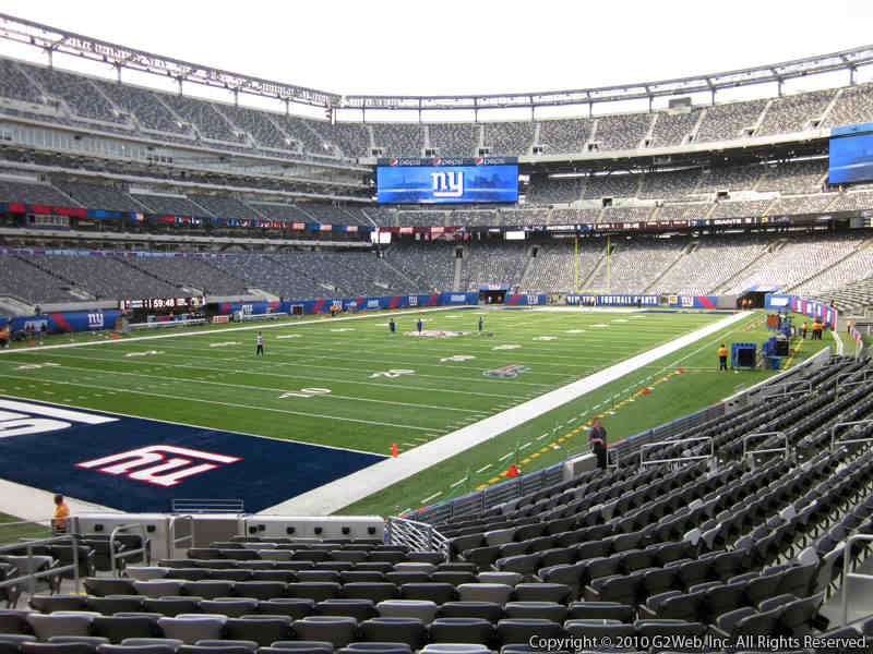 MetLife Stadium Section 121 Seat View