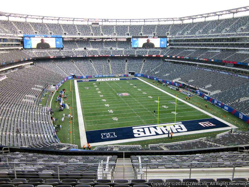 MetLife Stadium Section 203B - Giants/Jets - RateYourSeats.com