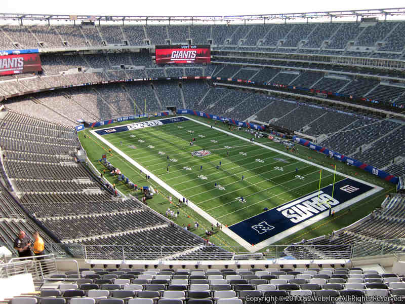 MetLife Stadium Section 306 Seat View