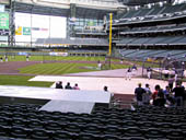 Seat View for Miller Park Section 121
