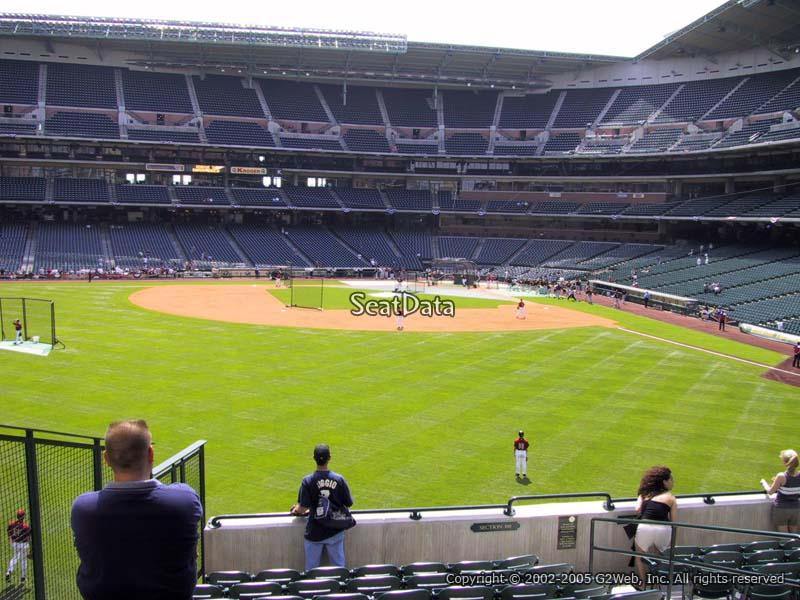 Minute Maid Park Section 100 Houston Astros