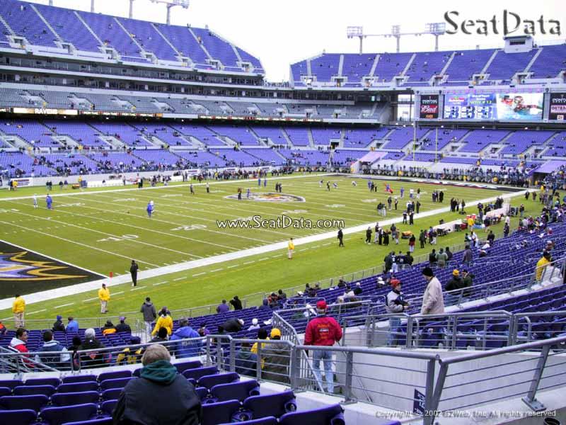 M Amp T Bank Stadium Section 133 Baltimore Ravens