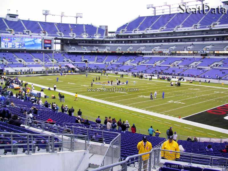 M Amp T Bank Stadium Section 147 Baltimore Ravens Rateyourseats Com