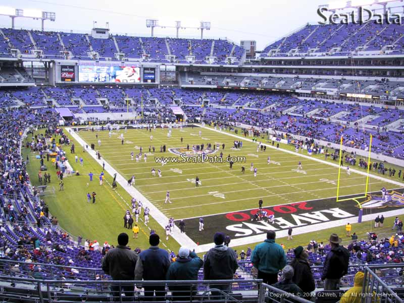 M Amp T Bank Stadium Section 244 Baltimore Ravens Rateyourseats Com
