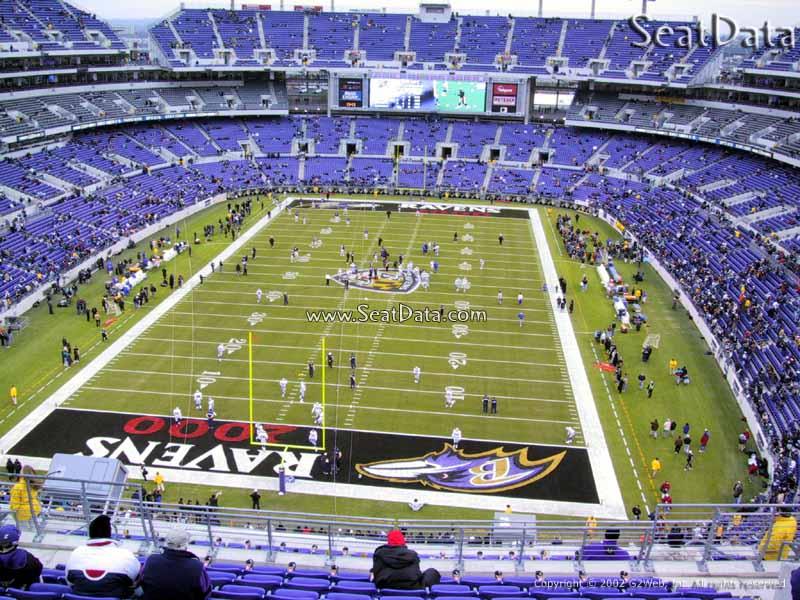 MampT Bank Stadium Section 512  Baltimore Ravens