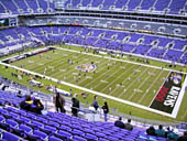 Seat View for M&T Bank Stadium Section 549