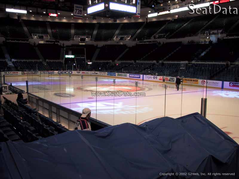 Nassau Coliseum Section 113X View