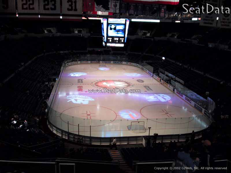 Nassau Coliseum Section 334 View