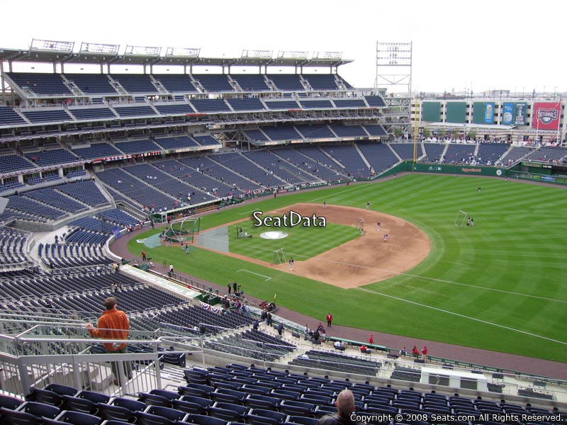 Nationals Park Section 222 Seat View
