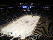 Columbus Blue Jackets Seat View for Nationwide Arena Section 222