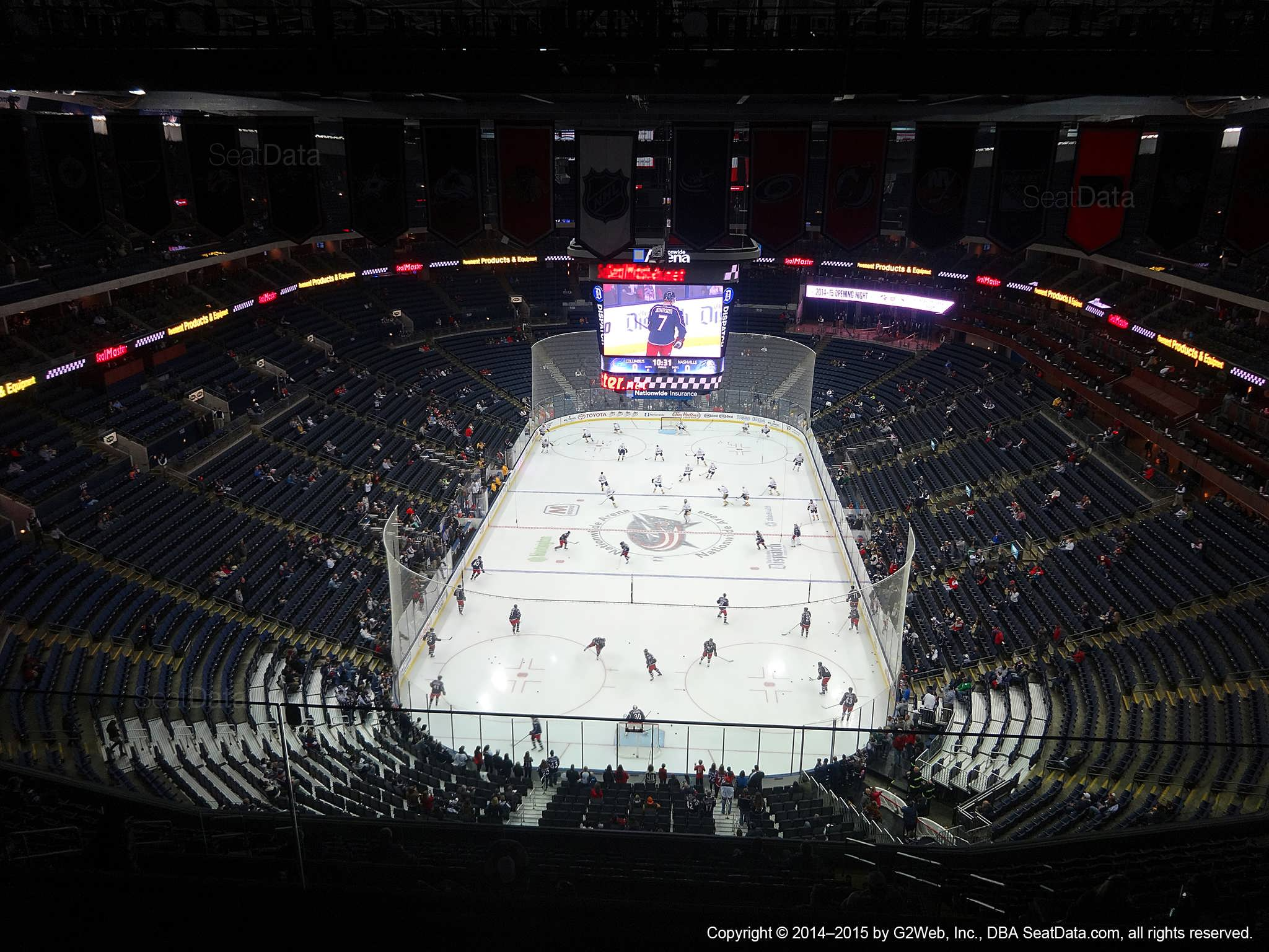 Columbus Blue Jackets Standing Room Tickets