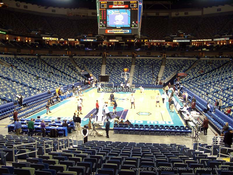 Smoothie King Center Section 118 New Orleans Pelicans
