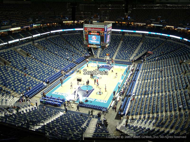 Smoothie King Center Section 322 New Orleans Pelicans