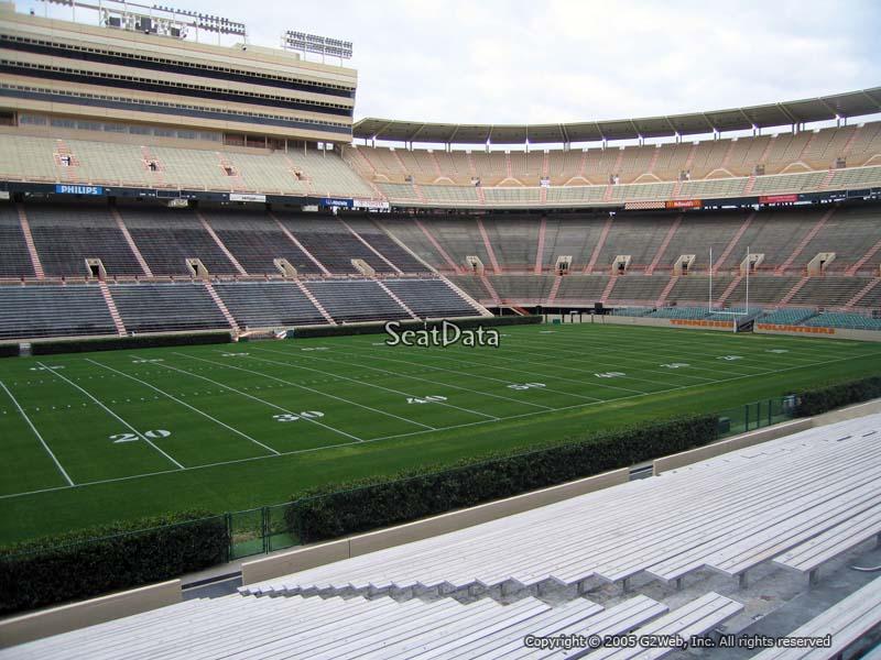 Neyland Stadium Section F Rateyourseats Com